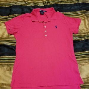 Pink Ralph Lauren Polo Sport Shirt